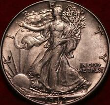 1942 Philadelphia Mint Silver Walking Liberty Half