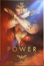 WONDER WOMAN Movie Promo Poster SDCC 2017 11 x 17 Gal Gado 'Power'