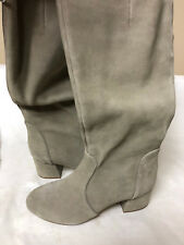 Steve Madden Women's Hanna Harness Boot Taupe Suede 7.5