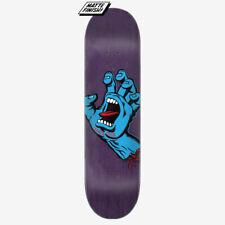 "Santa Cruz Screaming Hand Skateboard Deck - 8.375"" - purple"