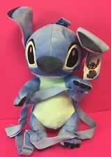 "16"" Disney  STITCH Plush Backpack-Lilo and Stitch