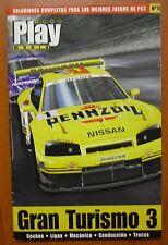 Guía Gran Turismo 3 A-Spec GT3 (PS2) coches, ligas, mecánica, conducción, trucos