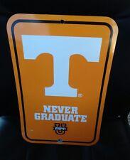 Tennessee Volunteers Wall Sign, TN Vols Football