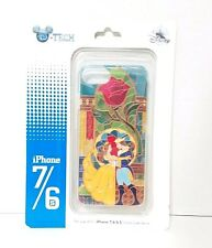 Disney Parks DTech Beauty & The Beast iPhone 6 6s 7 Cellphone Case Stained Glass