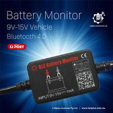 12v Car Battery Monitor Via Bluetooth 4.0 Voltage Meter Tester W/ Auto Alarm