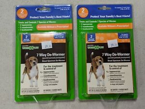 Sentry Worm X Plus 7 Way DeWormer 6-25 lbs Small Dogs (4 Count)