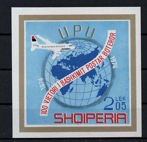 Albania, año 1974, Michel-N° bloque 52  en nuevo **/MNH, Michel-Euro 15,00 (K039