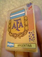ARGENTINA  PANINI USA WORLDCUP 94 1994 SILVER EDITION