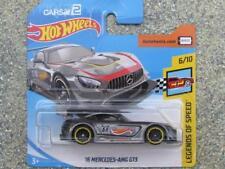 Hot Wheels 2018 #072/365 2016 MERCEDES AMG GT3 grey HW Legends speed New Casting