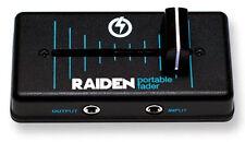 RAIDEN - VVT-MK1 in BLACK / BLUE PORTABLE DJ FADER / LEFT SIDE / Authorized DLR