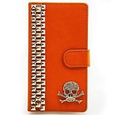Book Style Aufstellfunktion Schutz Hülle Handy Tasche Case Etui Bag Strass M301
