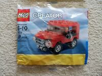 LEGO Creator City - Rare - 7803 Jeep - New & Sealed