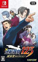 Phoenix Wright Ace Attorney 123 - Nintendo Switch [Region Free Mystery RPG] NEW