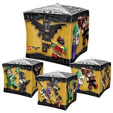 Lego Batman CUBEZ Foil Balloon ~ Birthday Party Decorations Favor Supplies 15X15