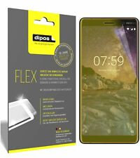 3x Nokia 7 Plus Screen Protector Protective Film covers 100% dipos Flex