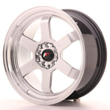 Japan Racing JR12 Alloy Wheel 17x8 - 4x100 / 4x114.3 - ET33 - Silver