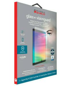 Zagg iPad 9.7 2017-2018, Air & Air 2, Pro 9.7 invisibleSHIELD Glass+ VisionGuard