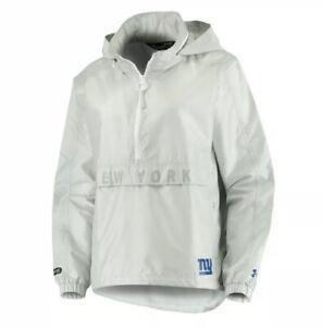 NWT$120 Under Armour Women NFL New York Giants 1/2 Zip Lightweight Jacket XL