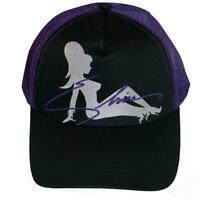 Kreepsville 666 Elvira Trucker Girl Purple Goth Punk Horror Snapback Hat HBETGP