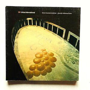 Lotus international n 29 1980 Rivista Architettura Vienna Hans Hollein Rob Krier