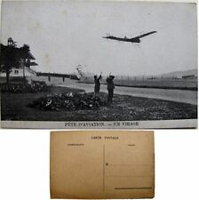 cpa Quinzaine aviation Stockel Woluwe-St-Pierre 1910 virage monoplan