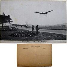 cpa Quinzaine aviation Stockel Woluwe-St-Pierre 1910 virage monoplan