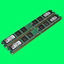 2 Stück Kingston KFJ-2889/512 1GB (2x512)  DDR PC2-5300U 667 MHz  Speicher RAM