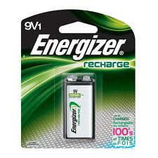 2 x  Energizer 9V 175 MAh Rechargeable Batteries Toys Smoke Alarm