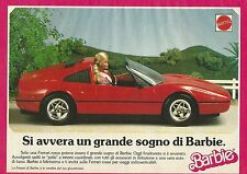X1119 BARBIE - Ferrari - Mattel - Pubblicità 1989 - Advertising
