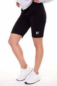 11 Degrees Women's Logo Cycling Short Black