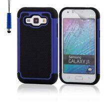 Cover e custodie Blu modello Per Samsung Galaxy J1 in silicone/gel/gomma per cellulari e palmari