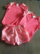 Kinder Mädchen Sport Anzug kurz 3-telig  Gr. 134 - Decathlon