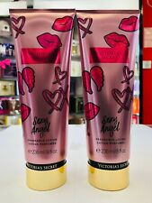 Victoria's Secret Sexy Angel Fragrance Body Lotion For Women 8 oz ( Set of 2 )