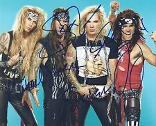 STEEL PANTHER Signed 8x10 Photo #2