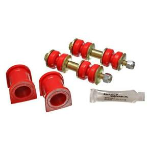 Energy Suspension Sway Bar Bushing Kit 8.5130R; 25.00mm Front Red for Scion xB