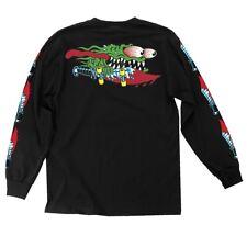 Santa Cruz Keith Meek Slasher Swords Long Sleeve T Shirt Black Xl