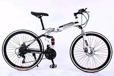 """Bicicleta Plegable Ciudad-Montaña Blanca/ Folding bike 26"""""""