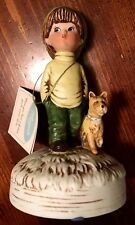 Moppets Music Box Circa 1974 Featuring A Boy And His Dog