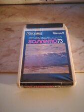 """""""Sanremo 73"""" Cassetta Stereo 8 Fonit /Cetra"""