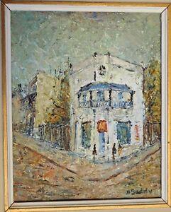 "Painting by Doreen Gadsby ""The Balcony"" Original artwork. Beautiful."