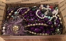 WEARABLE VInTAGE Mod 1-2+ LB HUGE Lot Costume Jewelry Earrings Necklace Bracelet