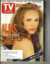 JENNIFER GARNER ALIAS TV Guide Mag 9/21/02 DR PHIL MCGRAW PATRICIA RICHARDSON PC