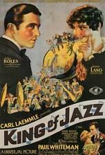 KING OF JAZZ Movie POSTER 27x40 Paul Whiteman John Boles Jeanette Loff Bing