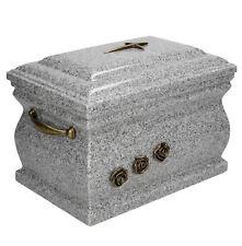 Mémorial Casket crémation Ashes adulte Urne en laiton Roses enterrement