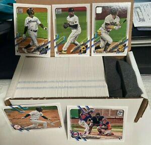 2021 Topps Series 2 Complete Set 331-660!! Free Priority Shipping!!!!