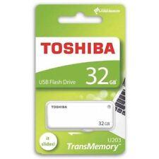 32GB Toshiba Memory U203 USB 2.0 Flash PEN Drive THN U203W0320 Yambiko