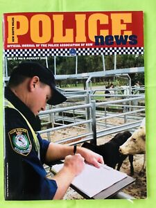 New South Wales Police News: August 2003. PANSW Magazine. Vol. 83. No. 8. VGC.
