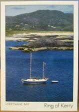 Irish Postcard DERRYNANE BAY Ring Kerry Boat Insight Ireland Peter Zöller SP320