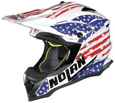 CASCO HELMET CROSS N53 RODEO AIR NOLAN SIZE M