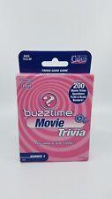 2004 Cadaco Buzztime Movie Trivia Cards Over 200 Movie Trivia Questions (M)